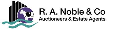 R A Noble & Co Auctioneer and Estate Agents Logo