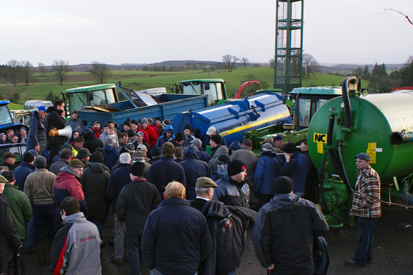 Machinery Auctions and on farm dispersals
